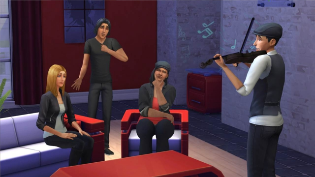gameplay do The Sims 4