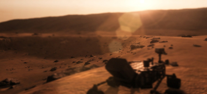 conteúdo para Take on Mars