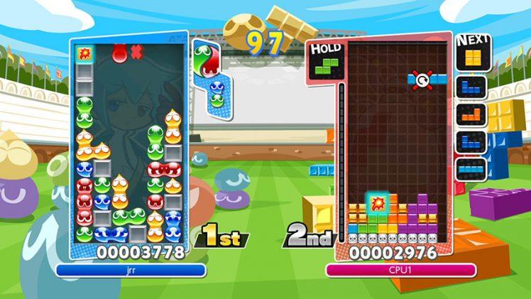 Puyo Puyo Tetris será lançado no ocidente para PS4 e Switch