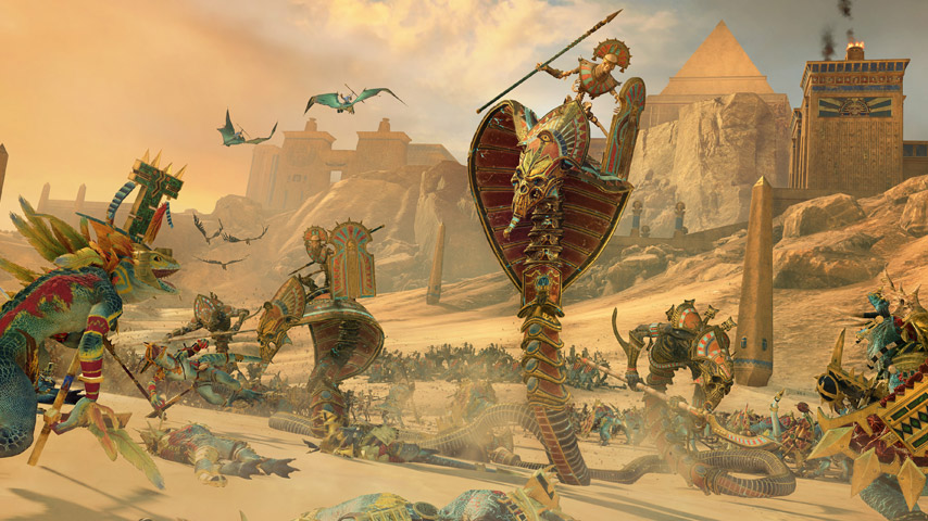 Análise – Total War: Warhammer II: Rise of the Tomb Kings