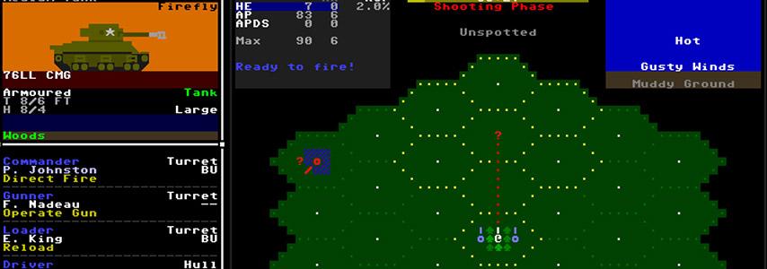 Um dos títulos que estamos jogando: Armoured Commander II