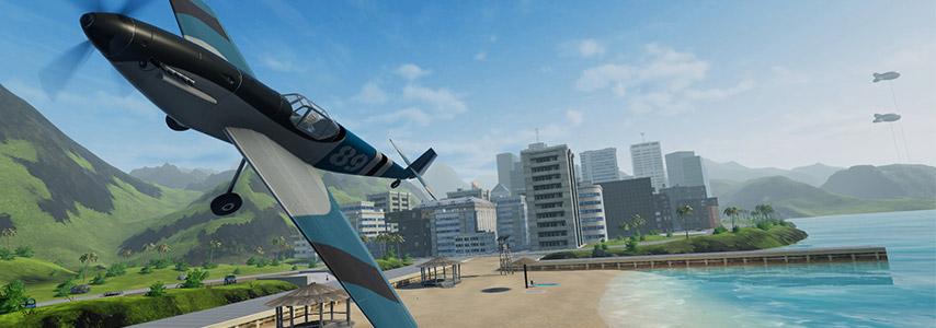 Um dos títulos que estamos jogando: Balsa Model Flight Simulator